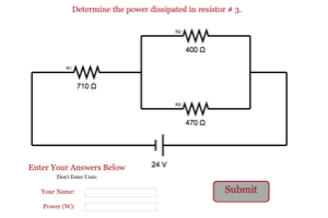 Parallel in a Series Circuit